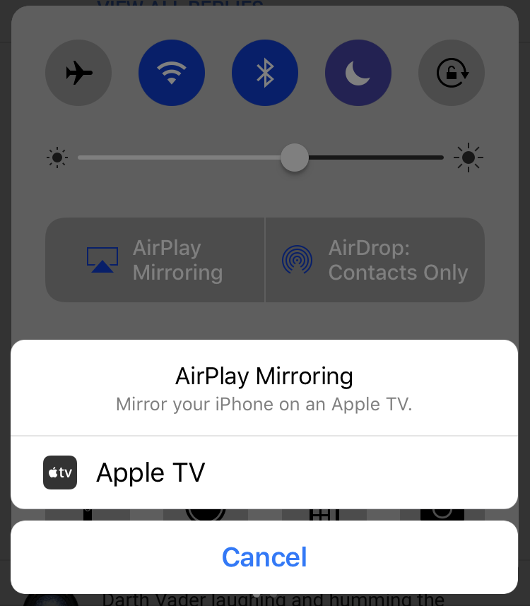 Use AirPlay to Wirelessly Send Audio and Video to your