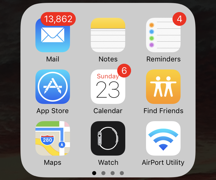 turn off mail app on iphone