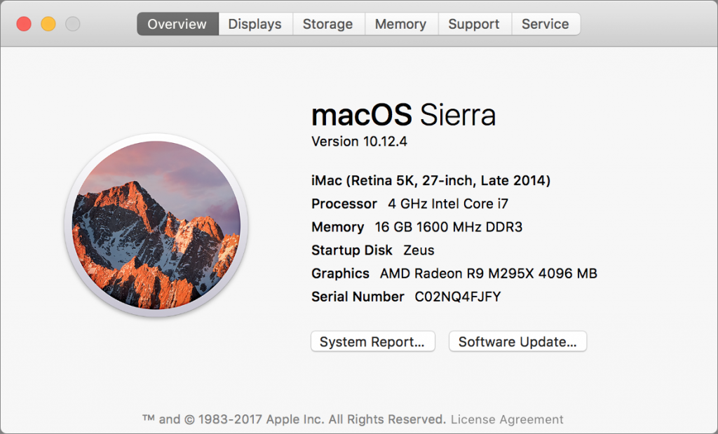Peer Deep into Your Mac's Soul with About This Mac