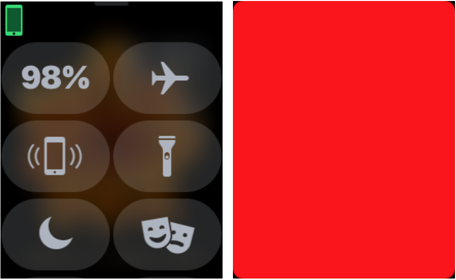 Paint the Town Red with the Apple Watch Flashlight | Simply