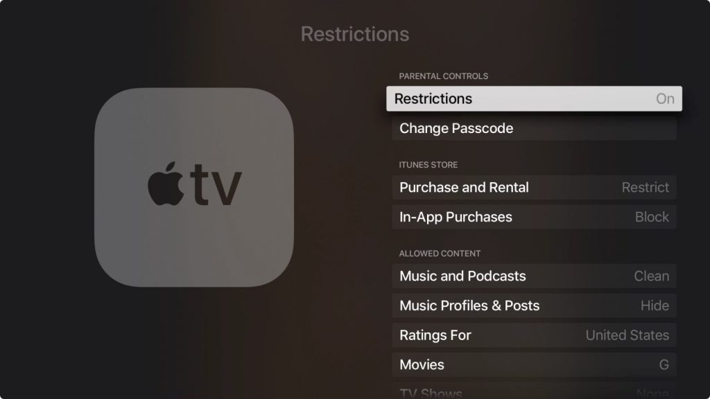 The Apple TV Has Parental Controls—Here's How to Find Them