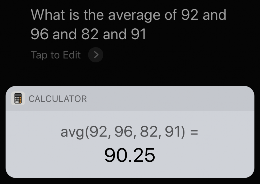 Need to Do Some Simple Math? Get Siri to Do It! | CapitolMac