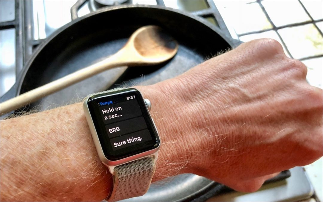 Making Messages Replies for Your Apple Watch