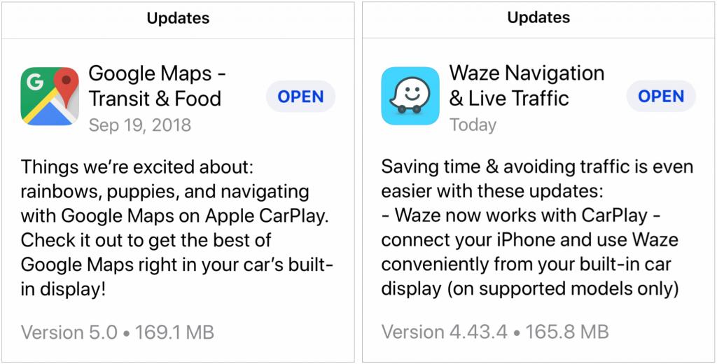 Finally! iOS 12 Lets You Use Google Maps or Waze in CarPlay – Palm