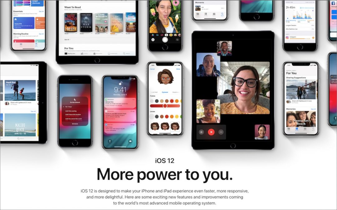 Top Features of iOS 12 to Take Advantage of Right Away