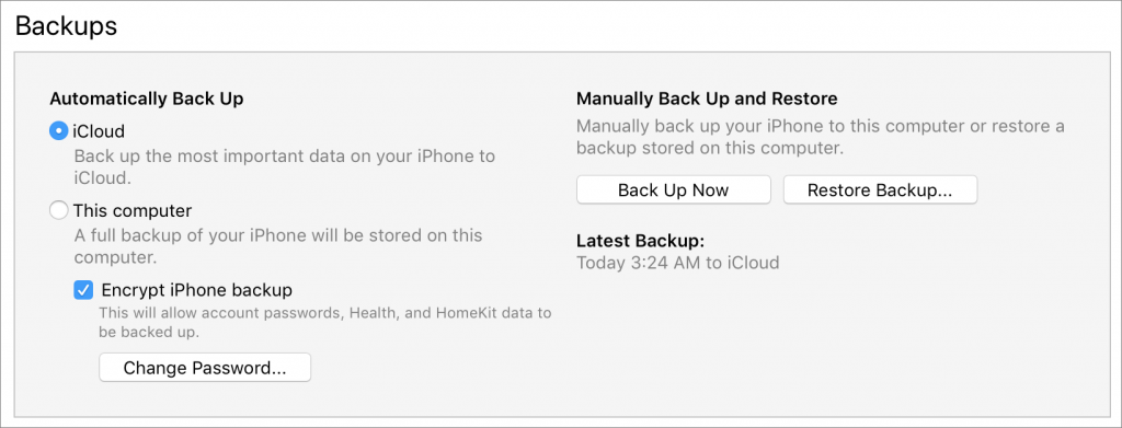 Back Up Before Upgrading to Mojave or iOS 12! – Forget