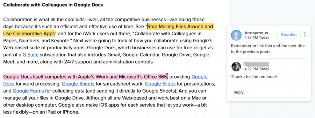 Collaborate with Colleagues in Google Docs - Austin MacWorks