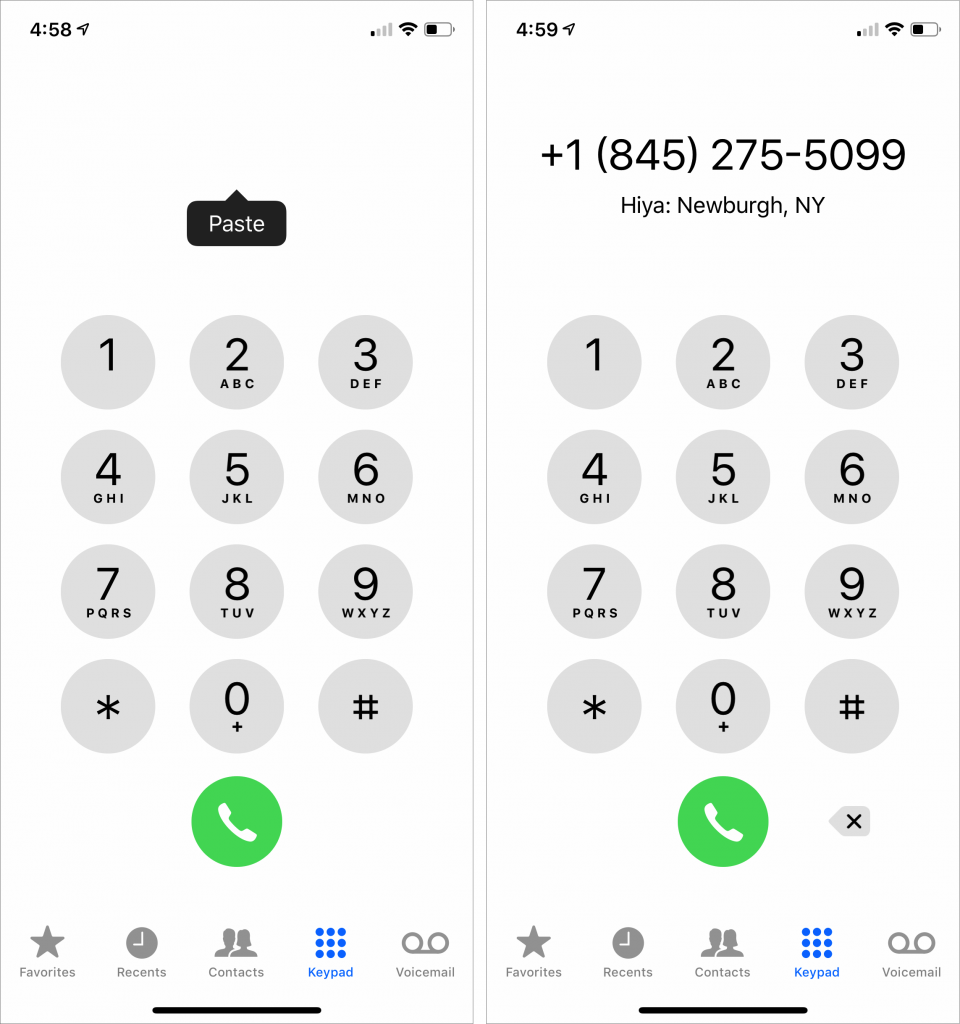 The Secret Trick That Lets You Paste Phone Numbers into the Phone App - Austin MacWorks